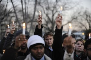 Vigil For Victims Of Sandy Hook School Shooting - Washington